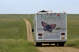 BIObus at Pawnee Prairie, CO
